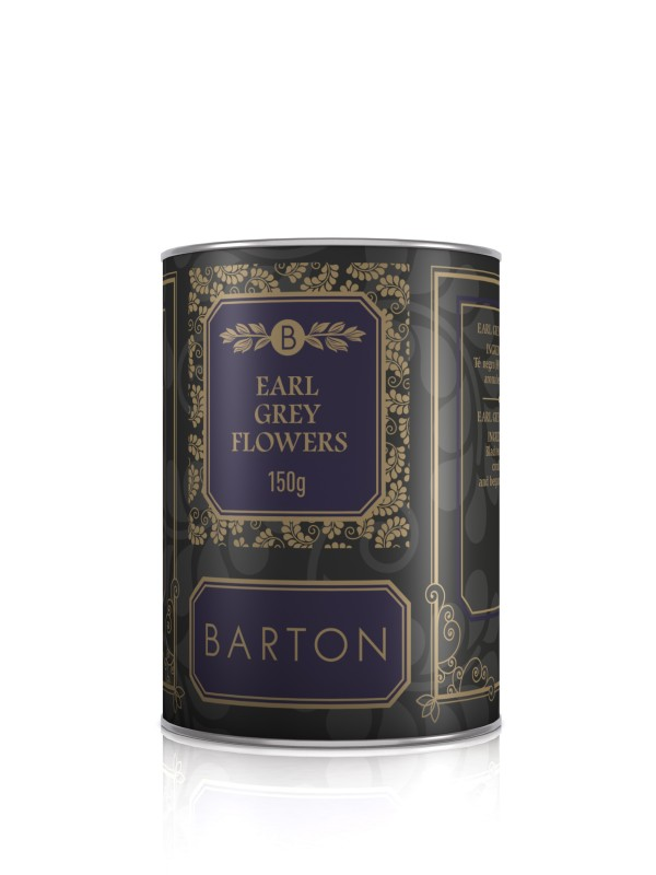 Te Negro Earl Grey Flowers