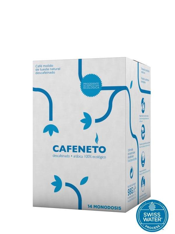 Cafeneto Monodosis E.S.E. Descafeinado Swiss Water Cafés Toscaf