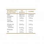 INFO NUTRICIONAL EDULCORANTE