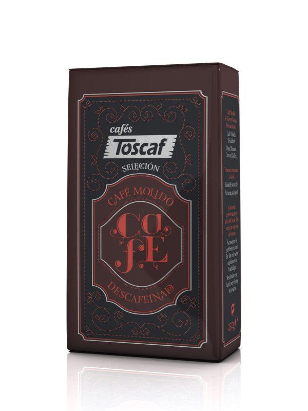 Toscaf Selección Molido Descafeinado 250g