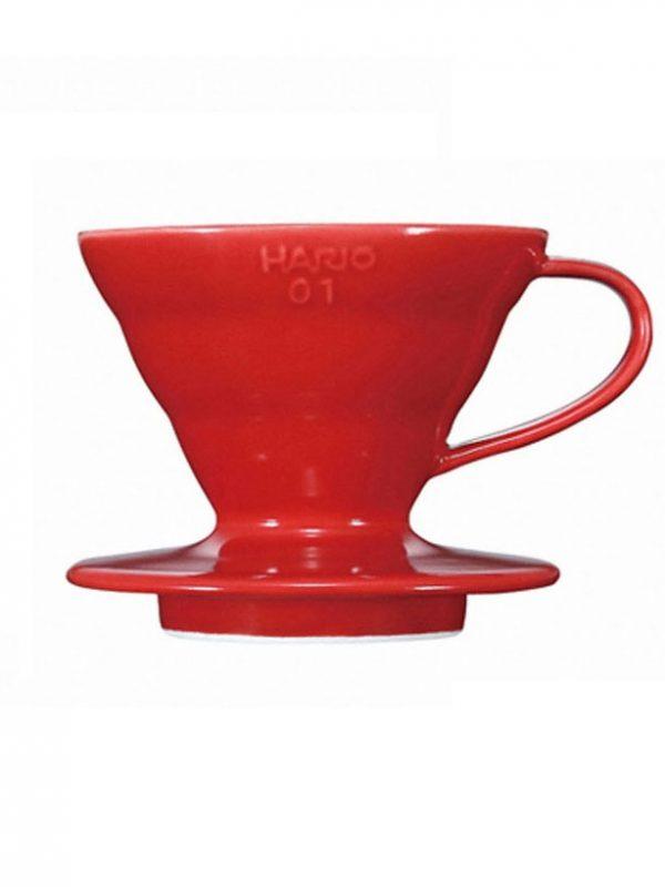 Cono Goteo Cerámica Rojo HARIO | Cafés Toscaf