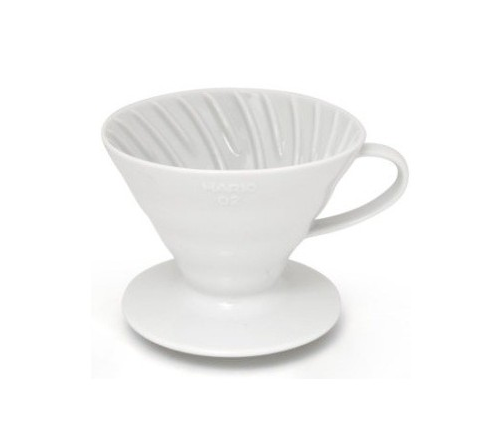 Cono Goteo Cerámica Blanco   Cafés Toscaf
