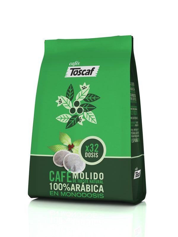 Monodosis Café Arábica 100%  :: Cafés Toscaf Tienda Online