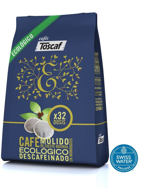 Monodosis Café Ecológico Descafeinado Swiss Water :: Cafés Toscaf