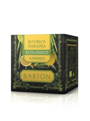 Rooibos Naranja Ecológica en Pirámides :: Infusiones Barton Comprar online