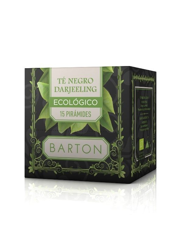 Té Negro Darjeeling Infusión Ecológica en Pirámides :: Barton online