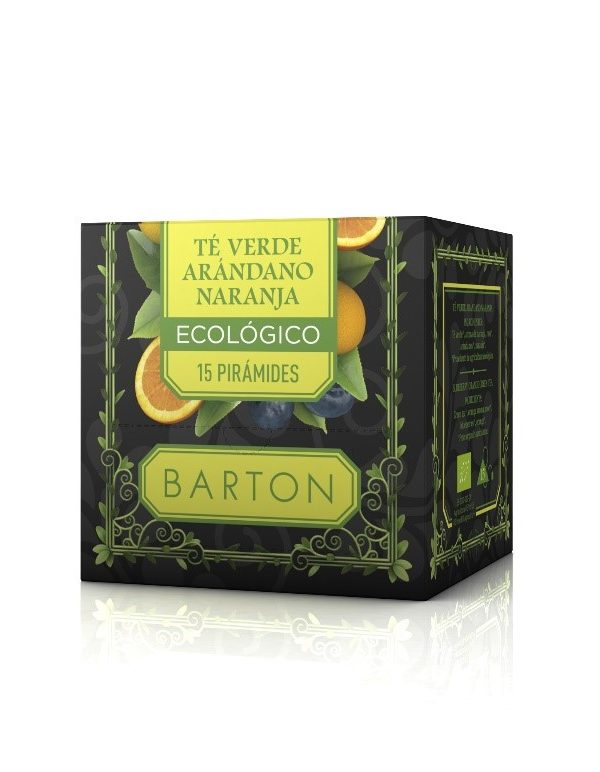 Té Verde Arándano Naranja Infusión Ecológica Pirámides :: Barton Online