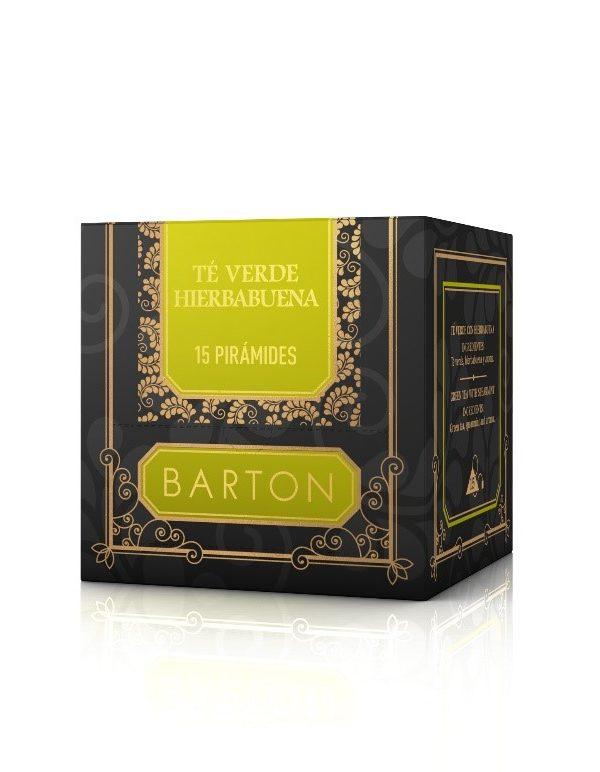 Té Verde Hierbabuena en Pirámides :: Infusiones Barton Comprar online