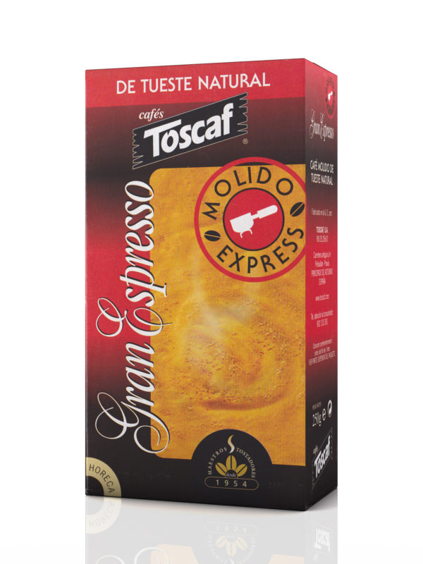 Toscaf Molido Natural Gran Espresso :: Cafés Toscaf Tienda Online