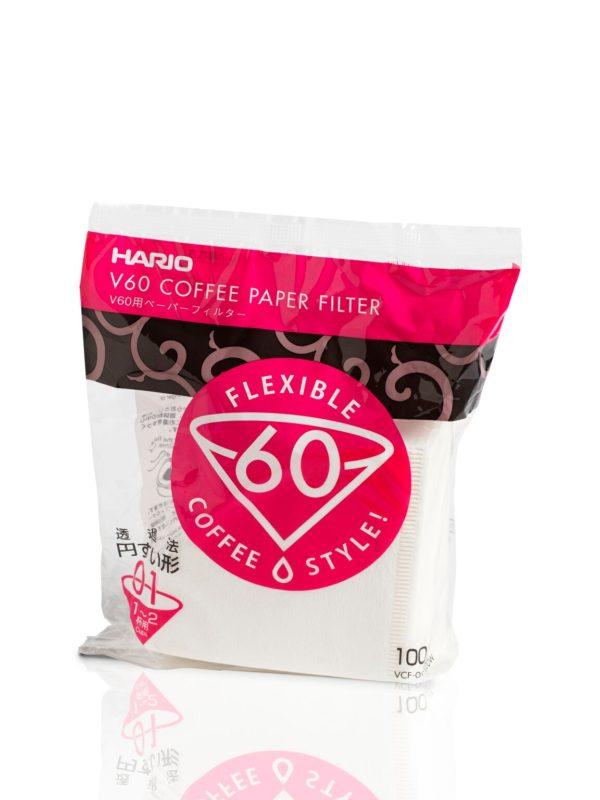 Filtros HARIO V60 :: Cafés Toscaf Tienda Online