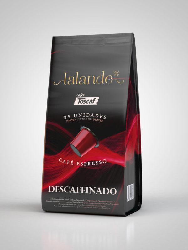 Lalande Descafeinado 25 unds – Cafés Toscaf | Sírvete de Pasión