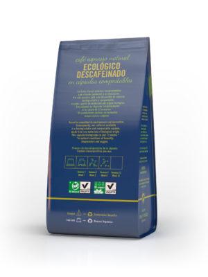 Cápsulas Compostables Ecológico Descafeinado Cafés Toscaf Online