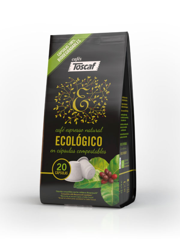 Cápsulas Compostables Ecológico Natural :: Cafés Toscaf Online