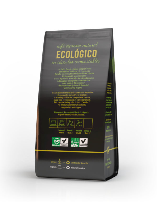 Cápsulas Biodegradables :: Cafés TOSCAF
