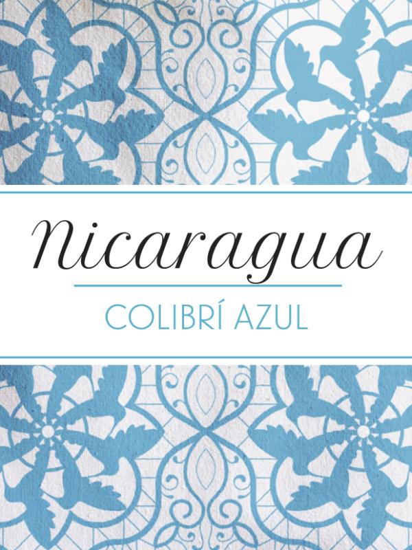 Toscaf Nicaragua Colibrí Azul