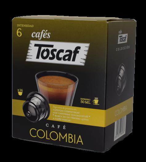 Cápsulas Café Colombia DG