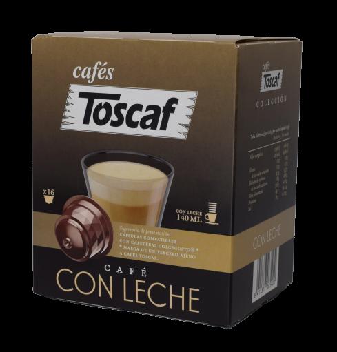 Cápsulas Café Con Leche DG