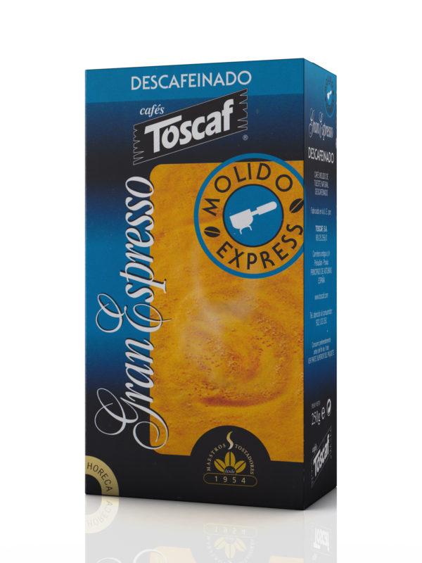 TOSCAF GRAN ESPRESSO DESCAFEINADO 250g