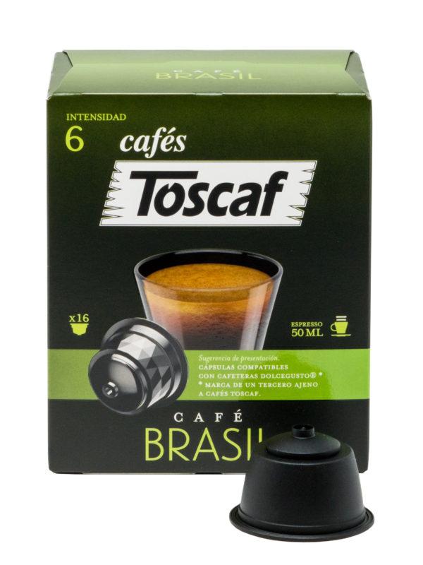 CÁPSULAS CAFÉ BRASIL 16UD