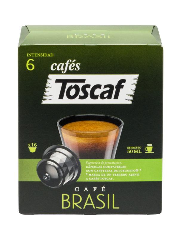 70239 TOSCAF CÁPSULAS BRASIL 16UD F