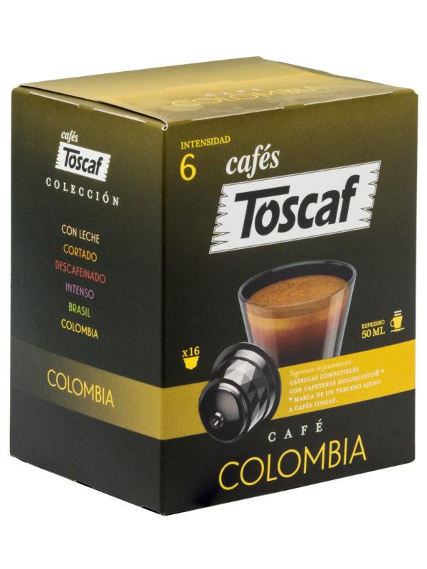 70240 TOSCAF CÁPSULAS COLOMBIA 16UD L
