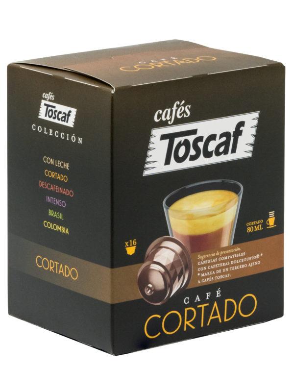 70241 TOSCAF CÁPSULAS CORTADO 16UD L