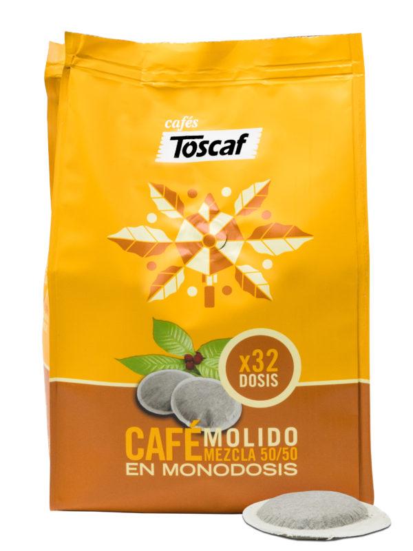 Monodosis Café Mezcla 5050 :: Cafés Toscaf