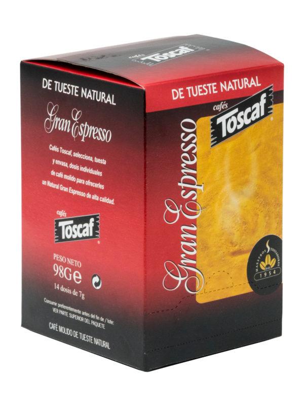Monodosis E.S.E. Gran Espresso Natural L