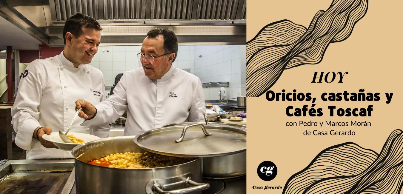 Cocina con Cafés Toscaf de la mano de FOCO - Casa Gerardo
